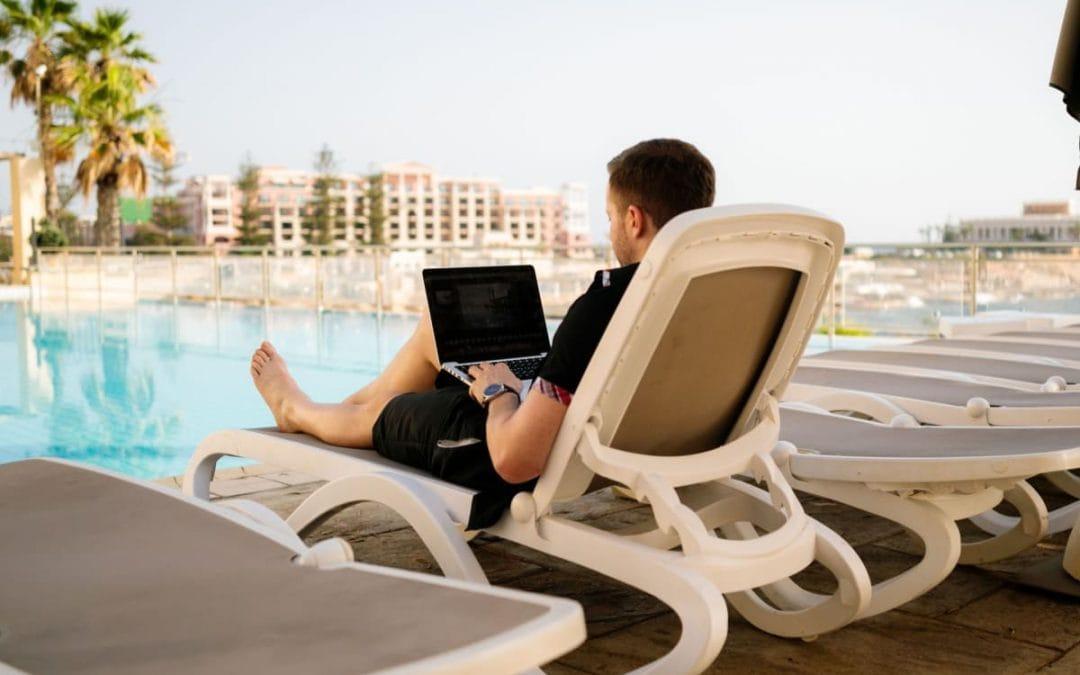 Skal du arbejde som digital nomade?